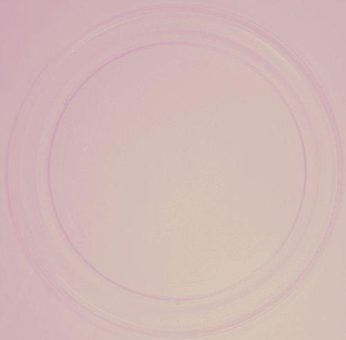 Mikrowellenteller / Drehteller / Glasteller für Mikrowelle # ersetzt Mda Mikrowellenteller # Durchmesser Ø 36 cm / 360 mm # Ersatzteller # Ersatzteil für die Mikrowelle # Ersatz-Drehteller # OHNE Drehring # OHNE Drehkreuz # OHNE Mitnehmer
