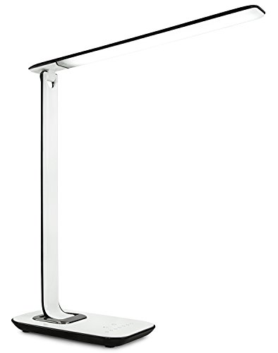 Turcom Led Desk Lamp Table Lamp Dimmable Usb Ports For