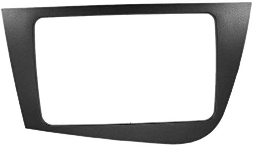 XGFCNB 2 DIN Frame DVD Navigation Audio Panel, para Seat Leon 2005-2012 (RHD) Car Stereo Radio Fascia Panel Trim Kit