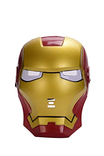 REINDEAR Comics Costume Superhero LED Light Eye Mask (Iron Man)