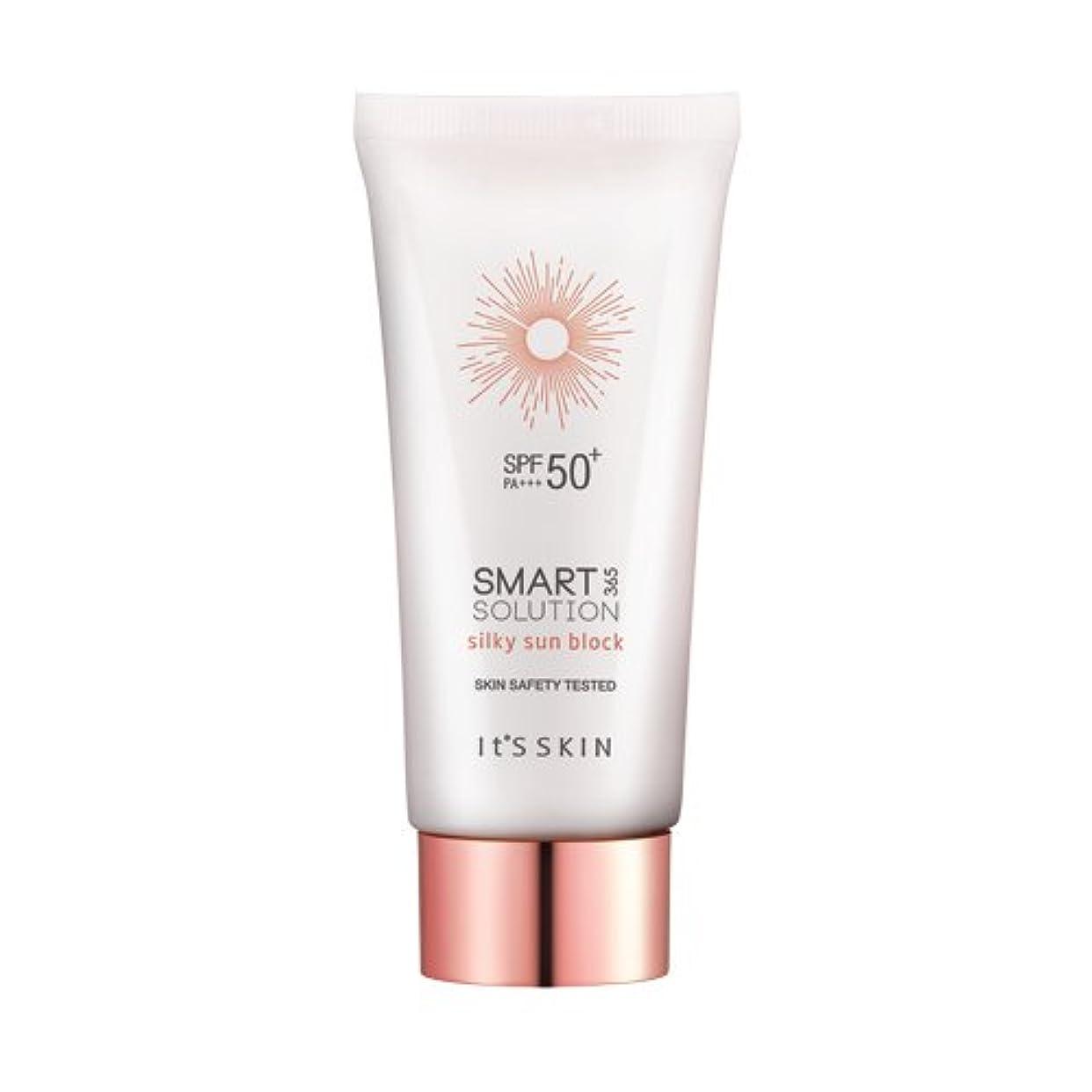 気付くメダリスト教科書[イッツスキン/Its skin]スマートソリューション 365シルキーサンブロック (SPF50+ PA+++) (Smart solution 365 silky sun block)