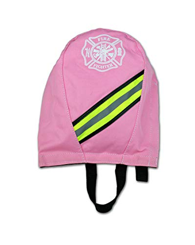 Lightning X Fireman's SCBA Air Pak Respirator Firefighter Mask Face Piece Bag for First Responder - Ladies Pink