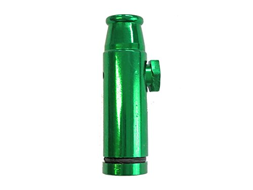 M&M Smartek Dosierer Portionierer sniff Snuff Bottle Sniffer Spender Dispenser Metall Version 3.0 (Grün)