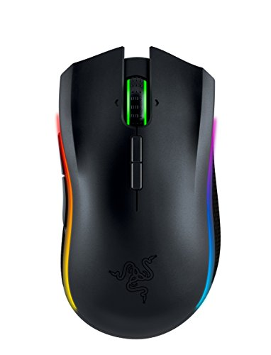 Razer Mamba Chroma - Professional Grade Esports Wired/Wireless Ergonomic Gaming Mouse - 16,000 DPI Sensor