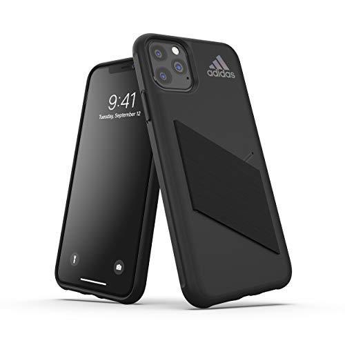 adidas Sports Kompatibel mit iPhone 11 Pro Max Hülle, Schutzhülle für das Taschen Handy - Schwarz