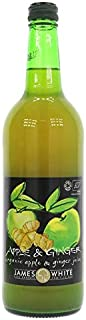 James White - Organics - Apple & Ginger Juice - 750ml
