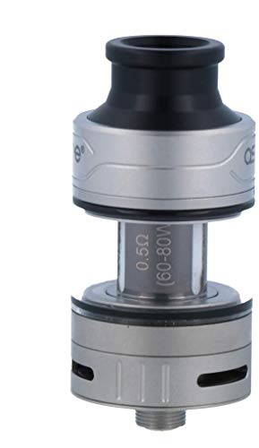Aspire Cleito Pro Verdampfer Set mit 3ml Tankvolumen - erweiterbar auf 4,2ml - Farbe: silber