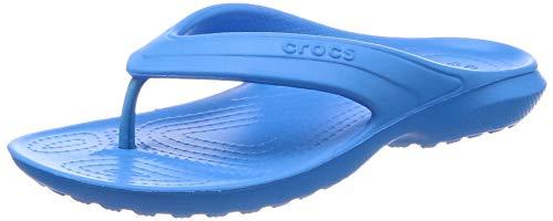 crocs Unisex-Kinder Classic Flip Kids Pantoffeln, Blau (Ocean), 22/23 EU (C6 UK)