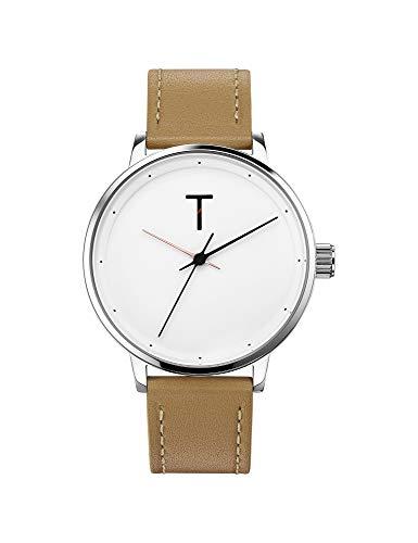 Tylor Watches Men's Dank Tlag001 Ανδρικο Μπεζ Ρολοι Quartz
