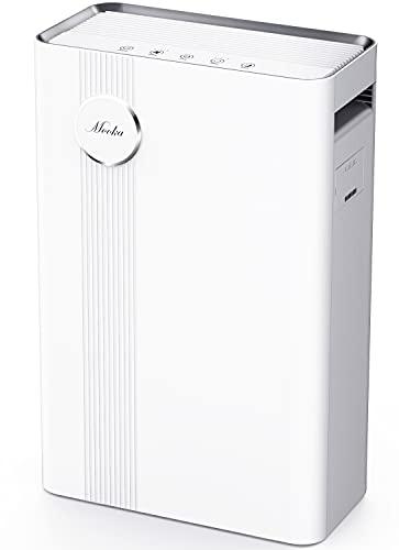 MOOKA Air Purifier for Large Rooms True HEPA Air...