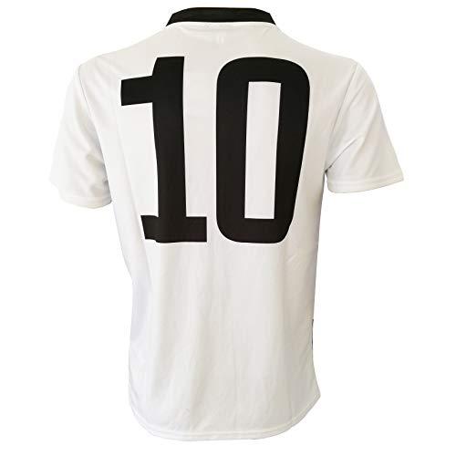 Perseo Trade - Camiseta Juventus número 10 réplica autorizada 2019-2020 para niño (tallas - años 2, 4, 6, 8, 10, 12) Adulto (S, M, L, XL) - Leer Note (XL Adulto)