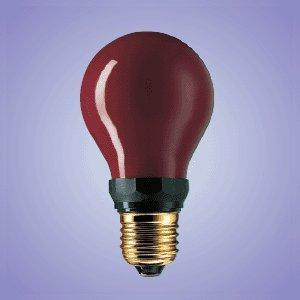 Générique Pf712 Dr Fischer - Lampadina E27 inattinica 230V 15W, colore: rosso/nero
