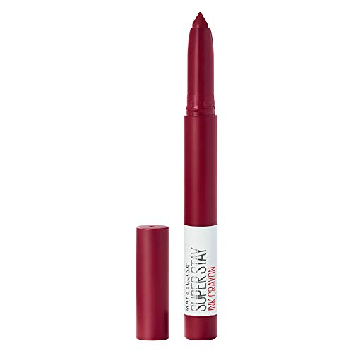 Maybelline New York Super Stay Crayon Lipstick, 55 Make it Happen 1,2g