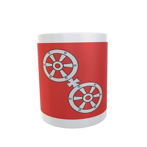 U24 Tasse Kaffeebecher Mug Cup Flagge Mainz