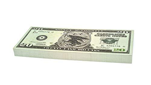Cashbricks 100 x $20 Dollar Spielgeld Scheine