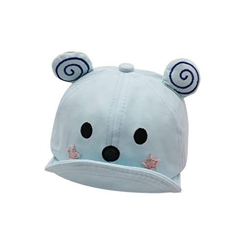Voberry- Bébé enfant enfants enfants printemps et été casquette à visière casquette de baseball chapeau de soleil casquettes