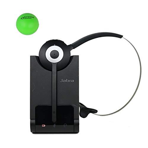 Jabra Pro 930 Wireless Headset for Computer Bundle with Renewed Headsets Stress Ball (Renewed)