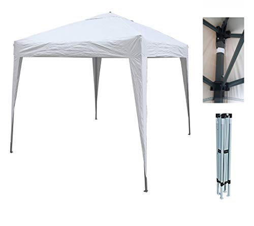Mcc@home 2x2m Pop-up Gazebo Waterproof Outdoor Garden Marquee Canopy (NS) (White)