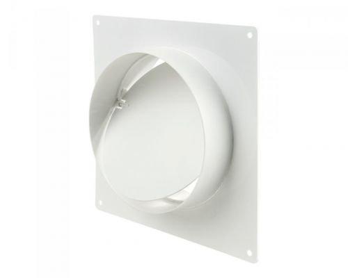 Rahmen/Wandanschluss mit Flansch und Rückschlagklappe - Ø150mm