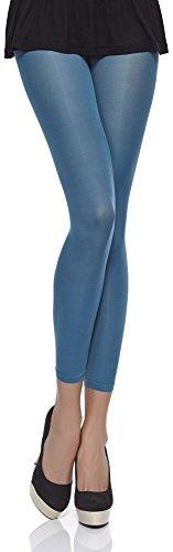 Merry Style Damen Mikrofaser Leggings 40 DEN MSSS006 (Petrol, XS/S (30-36))