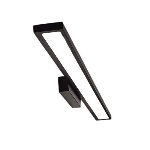 Siet 8W LED Espejo luz Delantera, lámpara de Pared de baño de Aluminio, Impermeable Anti-Niebla Maquillaje iluminación Frontal para el gabinete de Espejo Lavabo de baño vestidor (Color : 8w 30