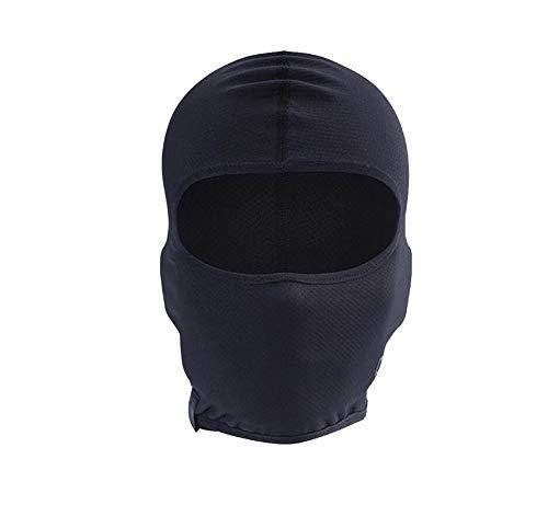 XL-Clearlove7 Bonnet De Casque D'équitation De Plein Air Cagoule De Moto, Masque Facial Respirant Et Léger,Smallsize