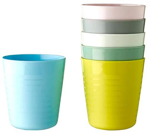 IKEA Kalas 004.613.79 - Taza (plástico, 8 x 17 cm), color pastel