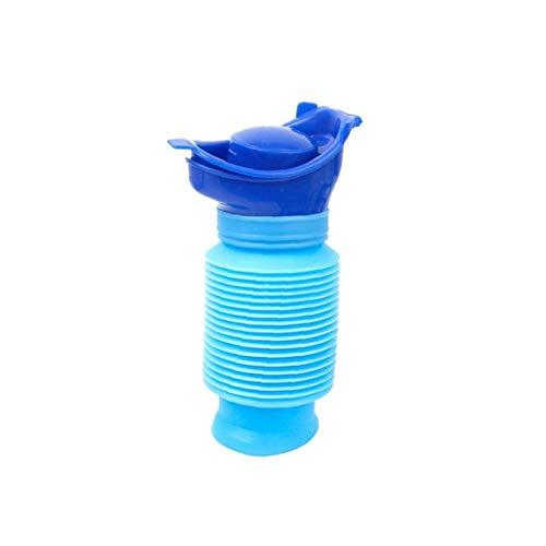 Odoukey Acampar orina higiénico Botella Bolsa de Viaje al baño Embudo de orina portátil apropiado para niños y niñas
