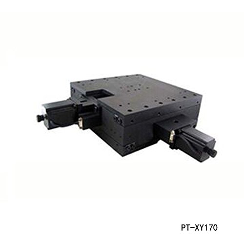 PT-XY170 XY Motorized Microscope Stage, Electric XY Integral Combinating Platform, 170mm Travel