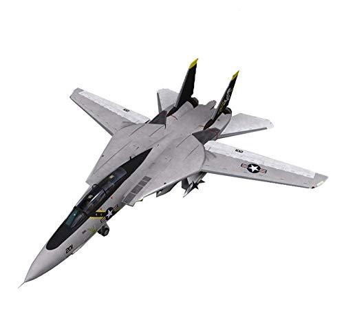 DressU Longevidad Militares de plástico Modelo Kits, 1/72 EE.UU. F-14B de Combate Rompecabezas Rompecabezas Modelo, Juguetes Adultos y coleccionables, Tiempos 10.7Inch;10.4inch Durabilidad