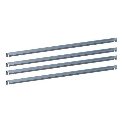 prima terra Schneckenkante Stahl verzinkt für Hochbeet Simplex 98x98cm