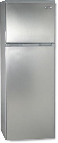 ROMMER F 292 A+ INOX Independiente 242L A+ Acero inoxidable nevera y congelador - Frigorífico (242 L, N-ST, 42 dB, 2,5 kg/24h, A+, Acero inoxidable)