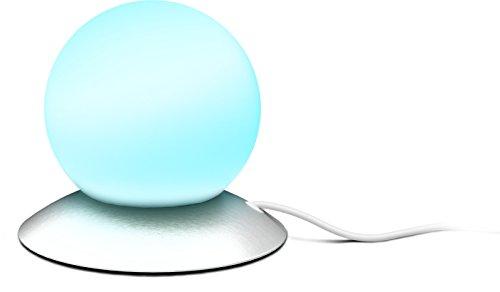 Speedlink ROUND USB LED Lamp touch - lamp met USB-A stekker, kabellengte 1,3 meter, metaalzilver [energieklasse A]