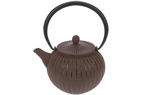 Cosy & Trendy 431241 Lantern Coffee Theepot gietijzer chocolade 1,2 l