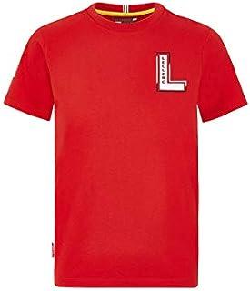 Ferrari Scuderia F1 Kids Charles Leclerc Driver T-Shirt Red (13-14 Years)