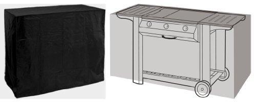 HBCOLLECTION Housse Noire pour Barbecue Gourmet 130cm Gamme Confort