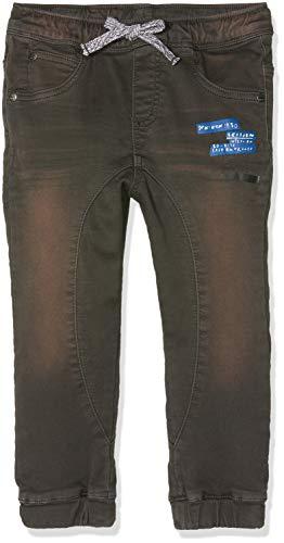 MEK Baby-Jungen Pantalone Jeggings Color Hose, Grau (Grafite 06 875), 68 (Herstellergröße: 6M)