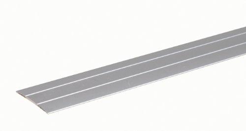 GAH-Alberts 491482 Übergangsprofil | selbstklebend | Aluminium, edelstahlfarbig eloxiert | 900 x 38 mm