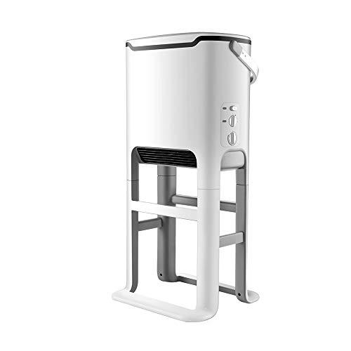 LKK-YSZWJ Portatil Radiadores Bajo Consumo, Calefactor Electrico Baño,con Termostato,Convectores, IPX4 Prueba de Agua,Dispone de 3 Ajustes de Potencia,Puede Calefacción Ropa, para Habitacion-Blanco