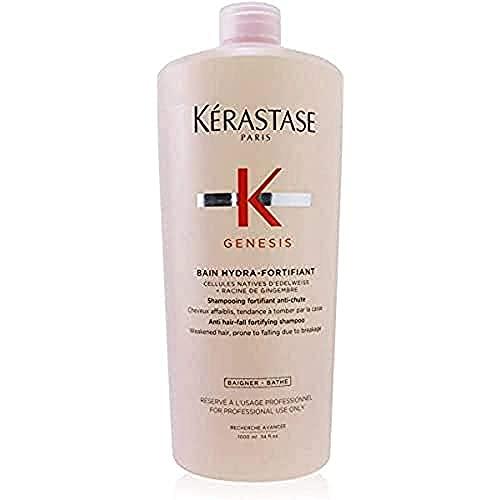 Shampoo Kérastase Genesis Bain Hydra-Fortifiant Cabelos Finos 1 Litro