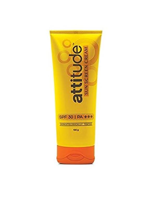 も民間ハントAmway Attitude Sun Screen Cream With Spf 30 & Pa+++/100 Grams