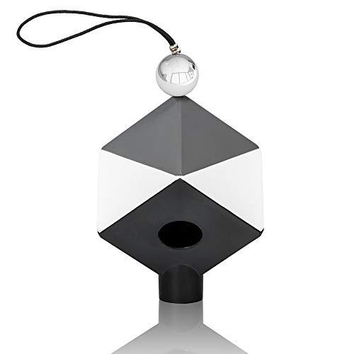 Datacolor SpyderCube: robuste Graukarte mit präziser Kontrastbestimmung durch Lichtfalle & Chromkugel