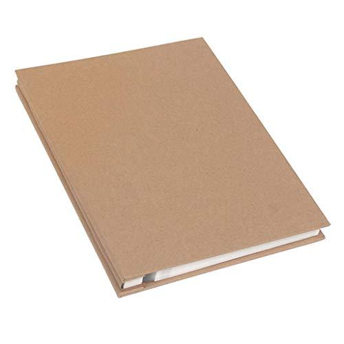 Fotoalbum Simple Business, DIY Handmade Scrapbook, Deckblatt selbstklebend, Innenseite, 25 Seiten (50 Fläche) Fotos Tourismus Liebe (Farbe: weiße Karte)