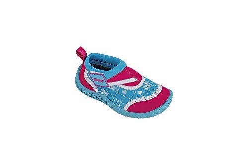 Fashy® peuters outdoor sport en zwemkleding, neopreen en mesh aqua schoenen met klittenbandsluiting en TPR zool