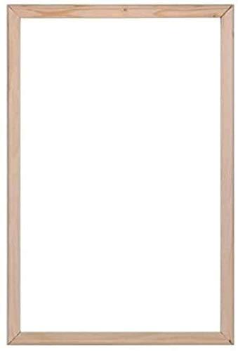 MingSH Keilrahmen für Ölgemälde Massivholzrahmen Leinwand -40 cm x 50 cm (16 x 20 Zoll, 4 Streifen)