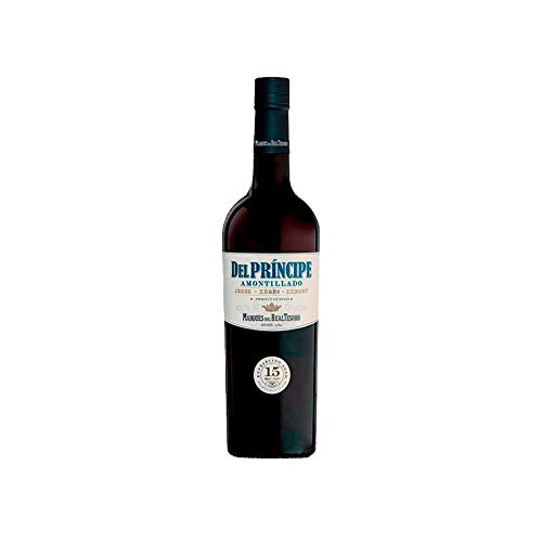 Vino Amontillado del Principe de 75 cl - D.O. Jerez - Bodegas Grupo Estevez (Pack de 1 botella)