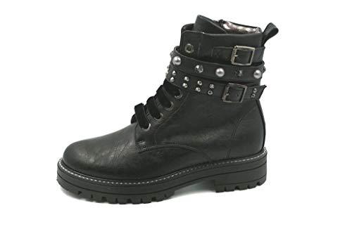 ASSO AG-280A Boots for Boy Chaussures Junior Made in Italy Nuova Coll. A/I18 - Noir - Noir, 31 EU EU