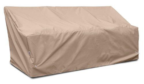 KOVERROOS 49355 Weathermax Housse de canapé Profonde Large Largeur 20,3 cm Diamètre 101,6 cm Hauteur 78,7 cm Toast