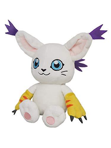 Sanei Boeki DG08 Digimon Adventure Gatomon Plush Toy Peluche S 18cm