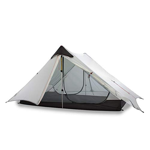 JooGoo Outdoor 2-3 Personen 15D Tent Ultra Licht Camping Automatische Dubbele Riot Riot Riot Verdikking Vier Seizoen Tent